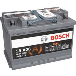 BOSCH SILVER AGM S5 A08 70AH 760A R+