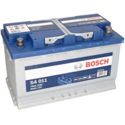 BOSCH SILVER S4 011 80AH 740A R+