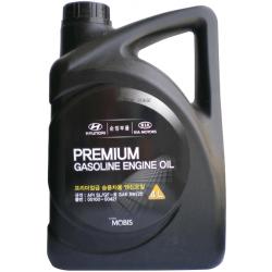 HYUNDAI-KIA PREMIUM GASOLINE ENGINE OIL 5W-20 4L