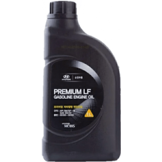 HYUNDAI-KIA PREMIUM LF GASOLINE ENGINE OIL 5W-20 1L