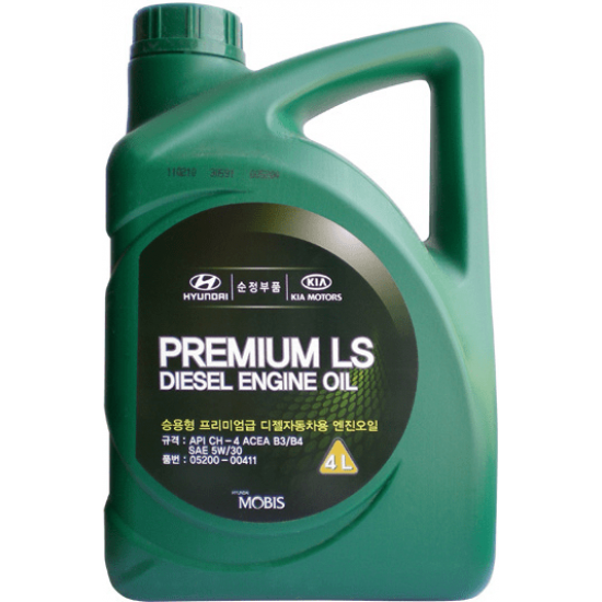 HYUNDAI-KIA PREMIUM LS DIESEL ENGINE OIL 5W-30 4L