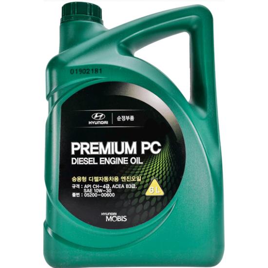 HYUNDAI-KIA PREMIUM PC DIESEL ENGINE OIL 10W-30 6L