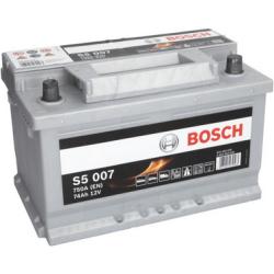 BOSCH SILVER S5 007 74AH 750A R+