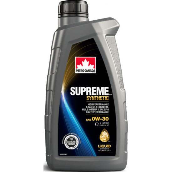 PETRO-CANADA SUPREME SYNTHETIC 0W-30 1L